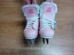 Продам коньки для девочки. размер: 28, фигурные коньки