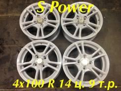Wheel Power. 5.5x14, 4x100.00, ET30