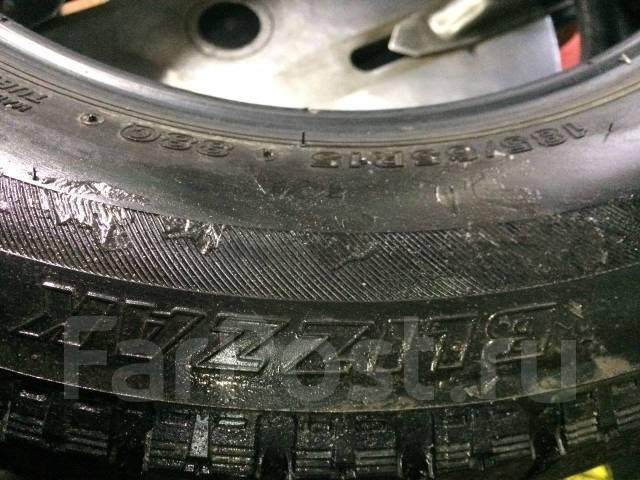 Bridgestone Blizzak VRX. Зимние, без шипов, износ: 40%, 4 шт