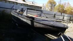 Амур-М. Год: 1986 год, длина 5,00м., двигатель подвесной, 85,00л.с., бензин