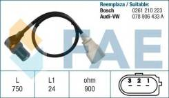 Датчик полож. коленвала\ Audi A4 2.5i-2.8i 96>. VW Passat 1.6i/1.8i/2.5i 24V 98
