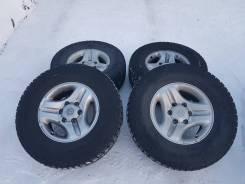 """Комплект зимних колес 265/70R16 на Prado. 7.0x16"""" 6x139.70 ET23 ЦО 110,0мм."""