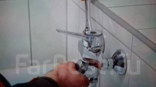 Замена и установка унитазов, смесителей, ванн