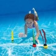 Занятия в бассейне с морской водой для детей