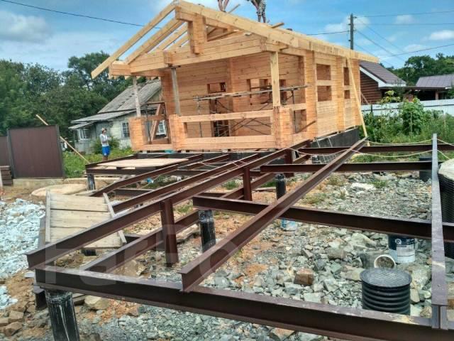 Строительство домов из клеенного бруса. Баня из клеенного бруса