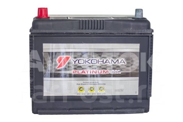 Yokohama Batteries. 70А.ч., Прямая (правое), производство Япония
