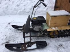 Самодельная модель. Продается самодельный снегоход, 212куб. см., 180кг., 70кг.