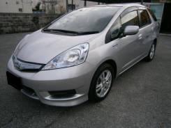 Honda Fit Shuttle Hybrid. автомат, передний, 1.3, бензин, 76 000тыс. км, б/п, нет птс. Под заказ