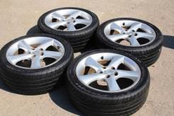 Продам колёса Mazda Atenza с новой зимней резиной и летней в комплекте. 7.0x17 5x114.30 ET55
