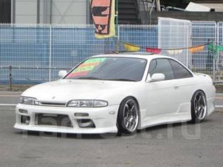Nissan Silvia. механика, задний, бензин, б/п, нет птс. Под заказ