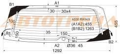 Стекло заднее (крышка багажника) с обогревом toyota rav4 iiivanguard 5d suv 2005- XYG арт.АS30 RW/H/X