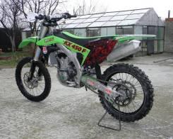 Kawasaki KX 450F. 450 куб. см., исправен, без птс, с пробегом