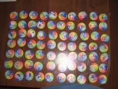 Фишки с покемонами пластиковые