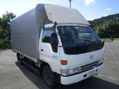 Toyota Dyna. бортовой(+тент) широкий, 3 тонны. Рама BU212., 4 100куб. см., 3 000кг. Под заказ