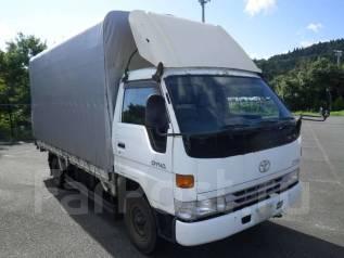 Toyota Dyna. бортовой(+тент) широкий, 3 тонны. Рама BU212., 4 100 куб. см., 3 000 кг. Под заказ