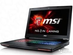 """MSI GT72S-6QD. 17.3"""", 2,7ГГц, ОЗУ 8192 МБ и больше, диск 1 000 Гб, WiFi, Bluetooth, аккумулятор на 4 ч."""