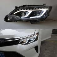 Фары передние в стиле мерседес Camry V55 2014-