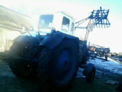 ЛТЗ Т-40. Трактор Т 40 с куном, 4 150 куб. см.