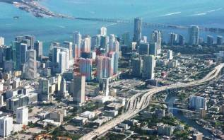 Участок 697м2 в центре Майами, Флорида, США
