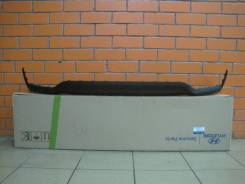 Накладка на бампер. Hyundai Solaris, HCR