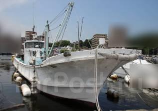 Шхуна рыболовная транспортная 19 м из Японии. Год: 1986 год, длина 19,00м., двигатель стационарный, 850,00л.с., дизель. Под заказ