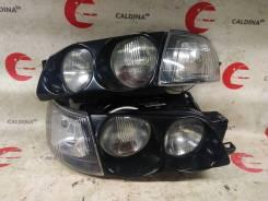 Фара. Toyota Caldina, CT190, ST191, ST190, ET196, CT198V, CT198, CT190G, CT196, ST191G, CT196V, ST195G, ST195, ST190G, ET196V Toyota Corona, ST195, CT...