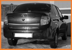 Накладка на дверь багажника. Лада Гранта, 2190, 2191 Двигатели: BAZ11183, BAZ11186, BAZ21127, BAZ21116, BAZ21126. Под заказ
