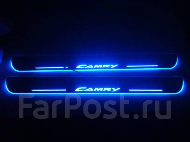 Накладка на порог. Ford Focus Ford Mondeo Mazda Mazda3 Mazda Mazda6 Mazda Atenza Toyota: Camry Gracia, Camry, Mark II, Chaser, Allion, Corolla BMW X6...