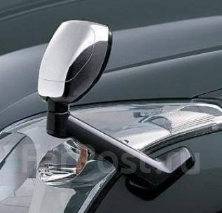 Накладка на зеркало. Toyota Land Cruiser Prado, GDJ150L, GDJ150W, GDJ151W, GRJ150L, GRJ150W, GRJ151W, KDJ150L, TRJ12, TRJ150W Двигатели: 1GDFTV, 1GRFE...