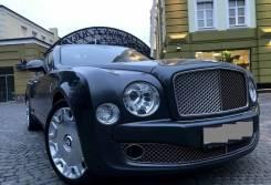 Bentley Mulsanne. автомат, задний, 6.8 (512 л.с.), бензин, 60 тыс. км. Под заказ