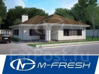 M-fresh Apriori-зеркальный (Готовый проект, 1 этаж, 5 комнат, терраса). 100-200 кв. м., 1 этаж, 5 комнат, бетон