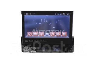 Универсальная магнитола 1DIN c выдвижным экраном Android 7.1.2 KR-7123