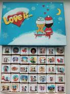 Шоколадный набор Love is. Подарок на 14 февраля. Под заказ