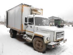 ГАЗ 3309. ГАЗ-3309 фургон рефрижератор, 4 750 куб. см., 4 330 кг.