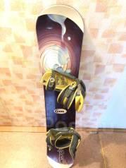 Продам сноуборд с ботинками. 155,00см., all-mountain (универсальный)