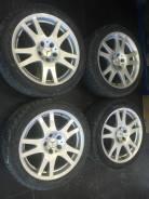 Диск Mercedes 8.5J R17 et18 5*112 на шинах 225-45R17. 8.25x17 5x112.00 ET18 ЦО 66,6мм.