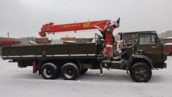 Камаз 53212. Кран-манипулятор Palfinger ит150 камаз-53212, 6 597 кг., 20 м.