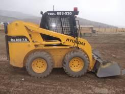 Hyundai HSL850-7A. Мини погрузчик Hyndaj, 3 307 куб. см., 950 кг.