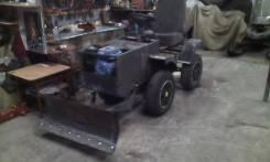 Самодельная модель. Мини трактор 4 WD, 250 куб. см.