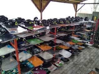 Сноуборды, лыжи с крепами, много, дёшево!