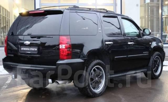 Chevrolet Tahoe. автомат, 4wd, 5.3 (324 л.с.), бензин, 185 тыс. км. Под заказ