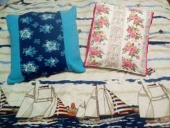 Пошив постельного белья, изготовление подушек.