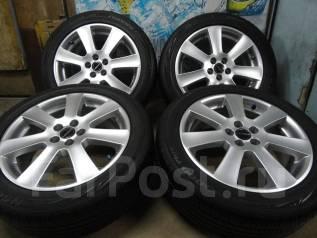 Продам Стильные Фирменные колёса Borbet+Лето Жир215/50R17Toyota, Subaru. 7.0x17 5x100.00 ET38