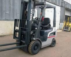Nissan. Вилочный дизельный погрузчик F1F1A15, 1 500 кг.