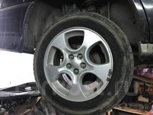 Колеса r16 Subaru. 6.5x16 5x100.00 ET48