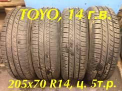 Toyo 330. Летние, 2014 год, износ: 30%, 4 шт