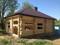Строительство домов и бань из оцилиндрованного бревна.