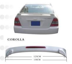 Спойлер. Toyota Corolla, EE104G, CE102G Двигатели: 3CE, 5EFE