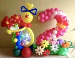 Оформление шарами, композиции из шаров с доставкой