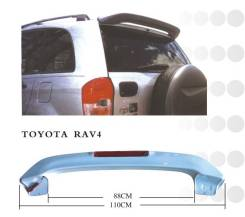 Спойлер. Toyota RAV4, ACA26, ACA21W, ACA23, ACA20W, ACA28, ZCA26W, ACA21, ZCA25W, ACA20 Двигатели: 1AZFSE, 1AZFE, 1ZZFE